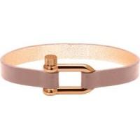 ROCHET Bracelet Acier/Cuir ADORABLE