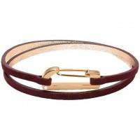 ROCHET Bracelet Acier/Cuir KIM RAVISSANTE